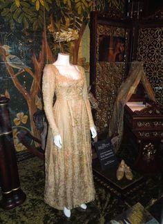 Elle Fanning Princess Aurora coronation costume Maleficent