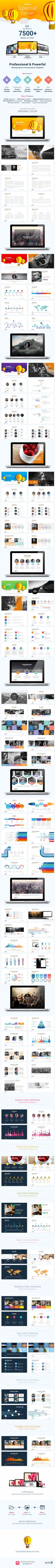 Powerful Business Presentation Template #powerpoint #powerpointtemplate Download: http://graphicriver.net/item/powerful-business-presentation/10379919?ref=ksioks