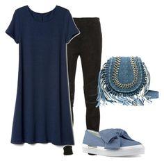 """Uniform Dressing - Berlusconi - Look 3"" by apparelmagazn on Polyvore featuring мода, Yves Saint Laurent и Nine West"