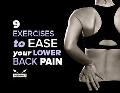 9 Exercises for Lower Back Pain Relief