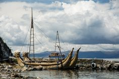 Umgekert wurde Thor Heyerdahls seegängige Ra im Titicacasee gebaut