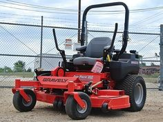 """Gravely Pro Turn 460- 35hp Kawasaki FX1000 V-Twin, w/60"""" Fabricated X-Factor Deck, ZT5400 Transaxles, ROPS Standard. $11999 For More Info Call 731-285-2060 or Visit our website: www.outerlimitpowersports.com"""