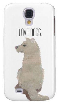 #Zazzle                   #love                     #Love #Dogs #Galaxy #Case                           I Love Dogs Galaxy S4 Case                                                    http://www.seapai.com/product.aspx?PID=1095230
