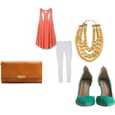 Fun and flirty outfit!, created by kari-lindsay.polyvore.com