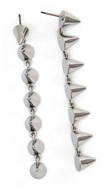 Punk Princess Earrings - Silver