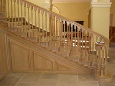 New country house staircase designed by Francis Johnson Architects House Staircase, Staircase Design, Staircases, Stairs, Green Belt, West Yorkshire, House Built, Architectural Elements, Victorian Homes