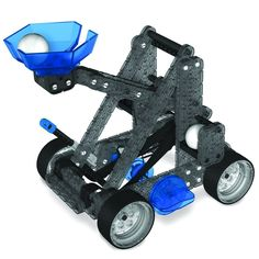 #transformer vex robotics construction set catapult launcher & powered motor kit add on stem