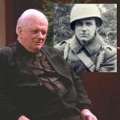 READ - 50 Famous Faces in Uniform during WWII Charles Durning,WWII,landed on Normandy with the Division.Charles Durning,WWII,landed on Normandy with the Division. Military Veterans, Military Men, Military History, Military Service, Gi Joe, Charles Durning, Famous Veterans, History Online, History Education