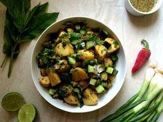 ensalada de patata thailandesa