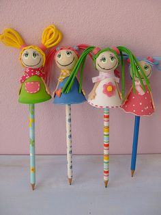 pencil toppers cute