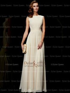 Elegant A-Line/Princess Jewel Chiffon Sleeveless Dresses Beauty Pageant Dresses, Prom Dresses, Formal Dresses, Evening Dresses Online, Cheap Evening Dresses, Designer Gowns, Sleeveless Dresses, Couture Dresses, Beautiful Gowns