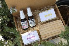 Natural Skin Care Gift Box by KURE 365- $39 KURE365.com