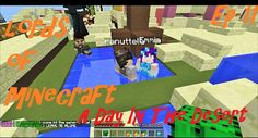 LORDS OF MINECRAFT, Fun In The Desert. Roleplay MC Server