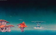 #Roger Dean #fantasy art