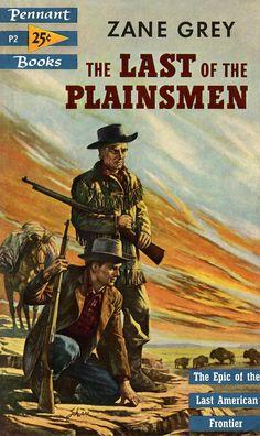 western paperback covers | ... Plainsmen Vintage Old Repro Western Cowboy Book Cover Poster | eBay