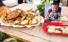 Fabio Viviani's Short Rib Ravioli & Cristina's Italian Feast Crab Sauce Recipes