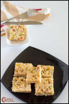 Kalakand Recipe    Instant Kalakand Recipe using Ricotta Cheese