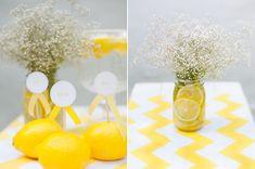 Sommerliche Tischdeko mit gelben Zitronen by Fräulein K sagt Ja4