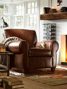 decor look alikes | pottery barn manhattan leather chair and