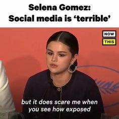 Selena Gomez Speech, Selena Gomez Video, Selena Gomez Songs Lyrics, Selena Gomez New Song, Selena Gomez Music Videos, Ariana Grande Selena Gomez, Motivational Movie Quotes, Music Quotes, Better Life Quotes