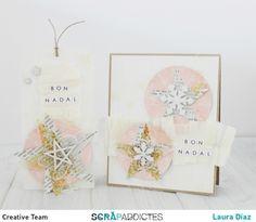 Postal Tag Navidad by Laura Díaz for @scrapaddictes