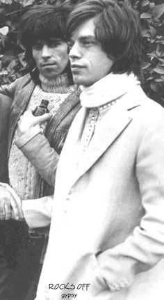 Keith Richards/Mick Jagger. The Rolling Stones.