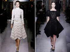 structured elegance | Valentino Spring Couture 2013