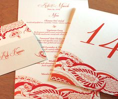 38 best invitation design arti images on pinterest hindu hindu indian letterpress wedding card and stationery design gallery arti by invitations by ajalon stopboris Images