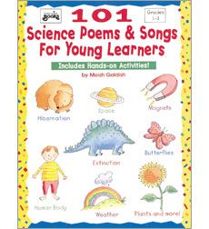 We have created songboards to provide visual supports for some of these great songs, such as Green Plants. 101 Science Poems & Songs for Young Learners by Meish Goldish | Scholastic.com