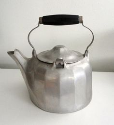 Vintage Tea Kettle Wagner Ware Colonial Aluminum by KimBuilt, $40.00--Gramma B had one similar to this.