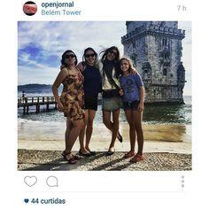Joelma Santanita, Karin Nagae, Malu Abib e Luna Santanita. Torre de Belém | Portugal | Agosto de 2015.