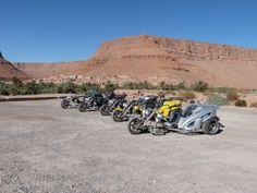 Auf Testfahrt in Marokko 2013