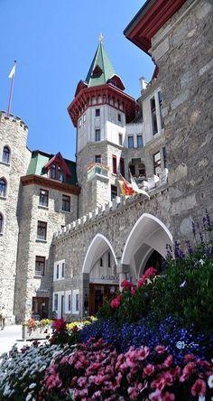 Badrutt's Palace Hotel - St. Moritz, Switzerland ~ Colette @}-,-;---