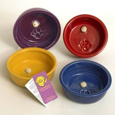 Happy Dog Pet Bowl : Seeds of Happiness, Share a Smile!
