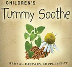 Childrens Tummy Sooth Formula Liquid Herbal Tincture Nursing Mothers