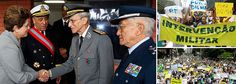Militares avisam radicais: o Brasil é uma democracia.  ?????????????????????????????????????????