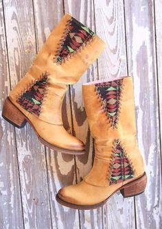 EL PASO buckskin boots // Junk GYpSy co.