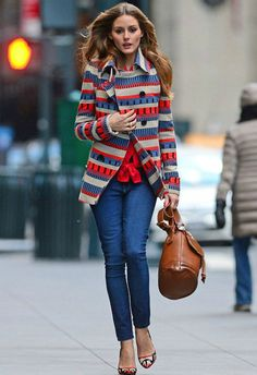 Olivia Palermo Looks, Womenswear Street Fashion Style. Streetsyle from OP Estilo Olivia Palermo, Olivia Palermo Lookbook, Olivia Palermo Style, Fashion Mode, Look Fashion, Urban Fashion, Winter Fashion, Fashion Photo, Paris Fashion