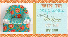 Cotton Tale Designs Baby's 1st Chair Giveaway via @Laura Gallaway