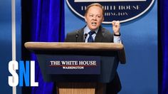 Sean Spicer Returns to Saturday Night Live! Sean Spicer Returns to Saturday Night Live! Sean Spicer Returns to Saturday Night Live! Melissa Mccarthy, Satire, Best Snl Skits, Donald Trump, Snl Sketches, Hiding In The Bushes, Snl Saturday Night Live, Humor