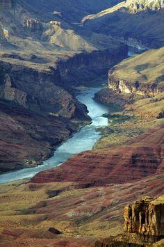 Río Colorado en el Parque Nacional Gran Cañón, Arizona (Estados Unidos)