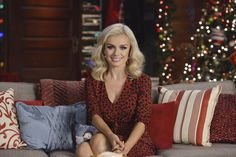 Join in on a fireside chat with Katherine Jenkins, and hear her dazzling vocals!