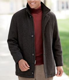 Lightweight Wool Jacket | Outdoor Jacket