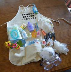 Daddy's Diaper Dooties...these are the BEST Baby Shower Ideas!