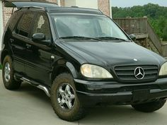 "Mercedes ML w163 not lifted but 2"" higher - 265.75/16 tires"