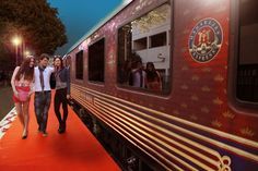 Maharajas Express Journey: Splendors, Majestic Beauty and Myriad Colors of an Ancient Land Unleashed.