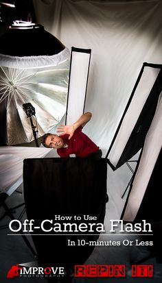 A SIMPLE step-by-step tutorial on how to use off-camera flash.  I love photography photography photography!