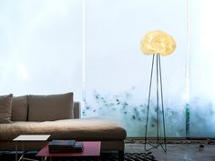 Origami floor lamp White and black lighting fabric by mikabarr, $652.00