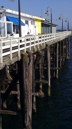 Santa Cruz Wharf, Santa Cruz, CA - wonderful memories!