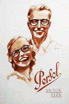Persol Commercial couple 1940s